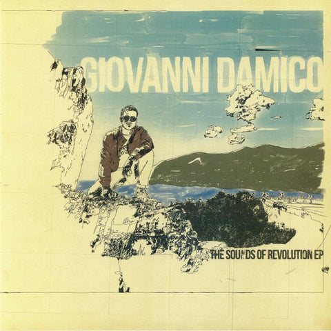 "Giovanni Damico ‎– The Sounds Of Revolution EP : Lumberjacks In Hell ‎– LIH 034 : Vinyl, 12"", EP"