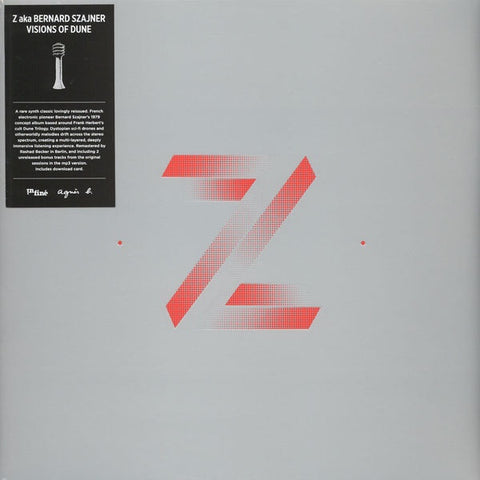 Zed aka Bernard Szajner - Visions Of Dune - InFiné - IF1029LP - LP, Album, RE, RM