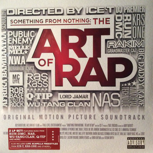 Various ‎– Something From Nothing: The Art Of Rap Soundtrack : JolyGood Films ‎– 88725461391 : 2 × Vinyl, LP