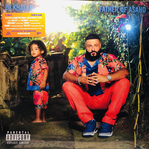 "DJ Khaled ‎– Father Of Asahd : We The Best ‎– 19075843971-S1, Epic ‎– 19075843971-S1 : 2 × Vinyl, 12"", Album, Limited Edition, Blue"