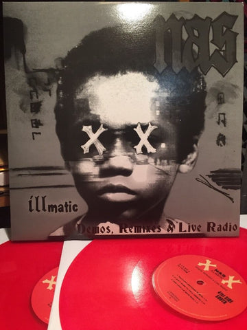 Nas - Illmatic XX - Demos, Remixes & Live Radio - Not On Label (Nas) - ILLMATICXX - 2xLP, Comp, Ltd, RP, Unofficial, Mar
