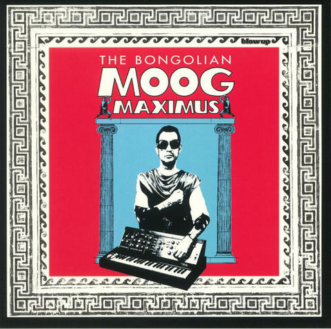 The Bongolian ‎– Moog Maximus : Blow Up Records ‎– BU102LPC : Vinyl, LP, Album, Limited Edition, 180gm Clear Vinyl