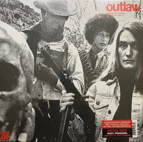 Eugene McDaniels ‎– Outlaw : Real Gone Music ‎– RGM-1063 : Vinyl, LP, Album, Limited Edition, Reissue, Stereo, Neon Red
