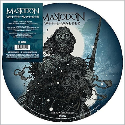 "Mastodon ‎– White Walker : Reprise Records ‎– 0-551628 : Vinyl, 12"", 45 RPM, Picture Disc"