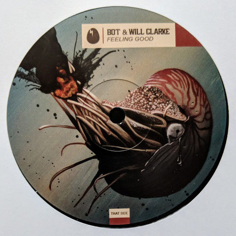 BOT & Will Clarke ‎– Feeling Good : Dirtybird ‎– DB194 : Vinyl, 12""