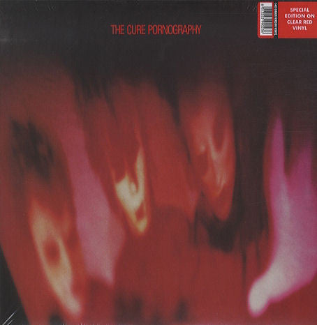 The Cure ‎– Pornography : Vinyl Lovers ‎– 990236 : Vinyl, LP, Album, Reissue, Red