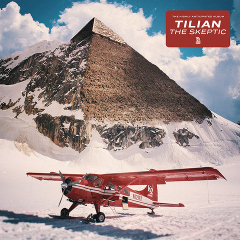 Tilian ‎– The Skeptic : Rise Records (3) ‎– 428-1 : Vinyl, LP, Album, Limited Edition, Gold