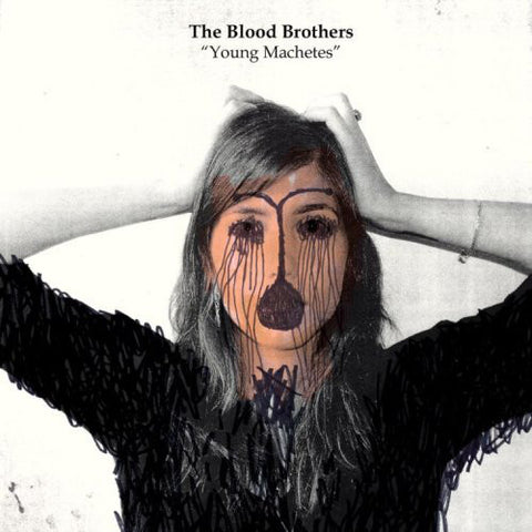 The Blood Brothers ‎– Young Machetes : Second Nature Recordings ‎– SN067 : 2 × Vinyl, LP, Limited Edition, Album, Orange