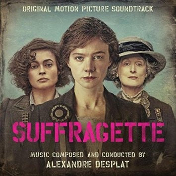 Alexandre Desplat ‎– Suffragette (Original Motion Picture Soundtrack) : Music On Vinyl ‎– MOVATM072 Series: At The Movies – : 2 × Vinyl, LP, Album, Limited Edition, Pink/Black Mixed