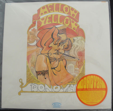 Donovan ‎– Mellow Yellow : Sundazed Music ‎– LP 5430, Epic ‎– LP 5430 : Vinyl, LP, Album, Reissue, Mono, Yellow Vinyl