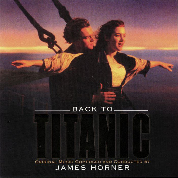 James Horner ‎– Back To Titanic (Music From The Motion Picture) : Sony Classical ‎– MOVATM175, Music On Vinyl ‎– MOVATM175 : 2 × Vinyl, LP, Deluxe Edition, Limited Edition, 180gram ,Gold