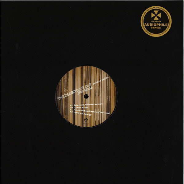 "Jeff Mills ‎– The Director's Cut : Axis ‎– AX078DC : Vinyl, 12"", 33 ⅓ RPM, Remastered"