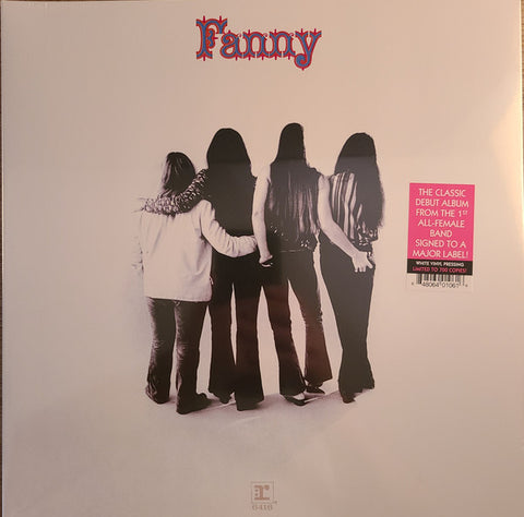 Fanny (2) ‎– Fanny : Real Gone Music ‎– RGM-1061, Reprise Records ‎– 6416 : Vinyl, LP, Limited Edition, Repress, Stereo, White vinyl