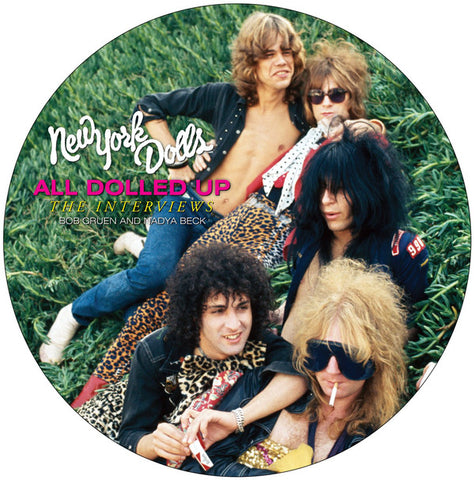 "New York Dolls ‎– All Dolled Up : MVD Visual ‎– MVD5902LP : Vinyl, LP, 11"", Picture Disc  DVD, DVD-Video  All Media, Limited Edition"
