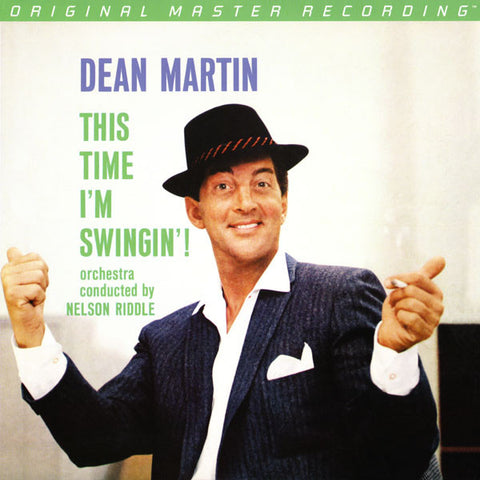 Dean Martin Orchestra Conducted By Nelson Riddle ‎– This Time I'm Swingin' : Mobile Fidelity Sound Lab ‎– MFSL 1-410 : Vinyl, LP, Album, Stereo, Limited Edition, Numbered, Remastered, 180 gram