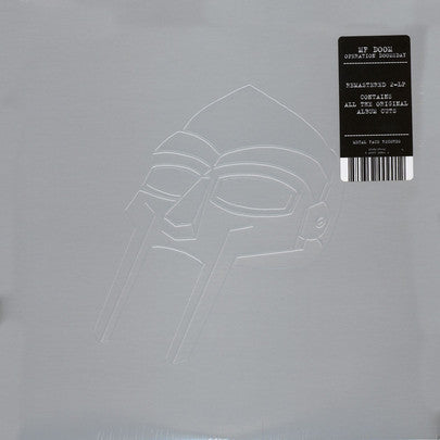 MF Doom - Operation: Doomsday - Metal Face - MF-90 ST-02 - 2xLP, Album, RE, RM