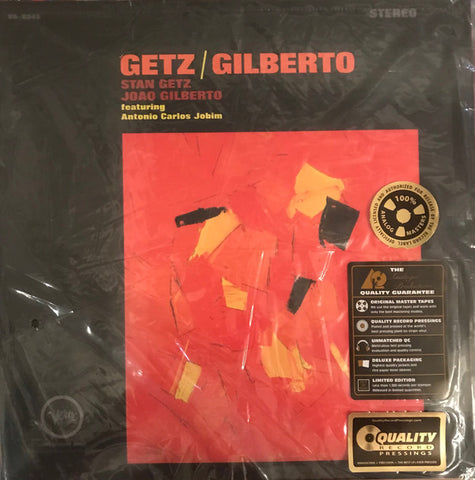 "Stan Getz / João Gilberto Featuring Antonio Carlos Jobim ‎– Getz / Gilberto : Analogue Productions ‎– AP-8545, Verve Records ‎– V6-8545, Series: Verve Reissues – : 2 × Vinyl, 12"", 45 RPM, Album, Limited Edition, Reissue, Remastered, Stereo, 200g, Gatefold"
