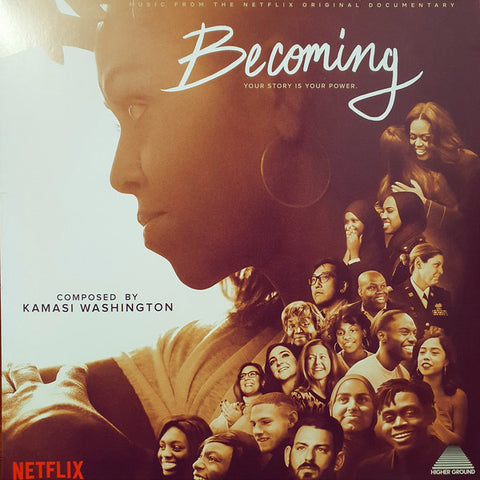 Kamasi Washington ‎– Becoming (Music From The Netflix Original Documentary) : Young Turks Recordings ‎– YT230LP : Vinyl, LP