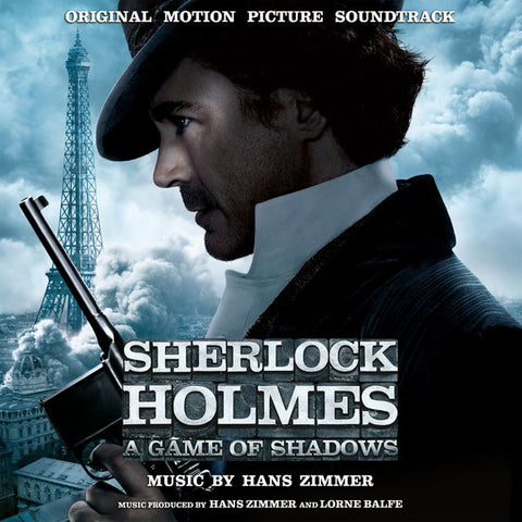 Hans Zimmer ‎– Sherlock Holmes: A Game Of Shadows (Original Motion Picture Soundtrack) : Music On Vinyl ‎– MOVATM207, Sony Classical ‎– MOVATM207 Series: At The Movies – : Vinyl, LP, Album, Limited Edition, Numbered, Smoke Colored