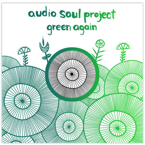 Audio Soul Project ‎– Green Again : Fresh Meat ‎– FMR64 : Vinyl, 12""