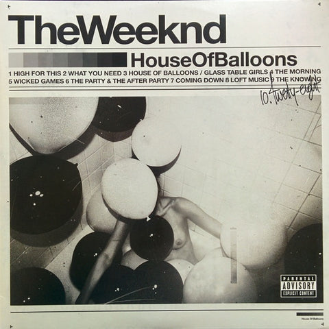 The Weeknd - House Of Balloons - Republic Records - B0022930-01 - 2xLP, Album, RE