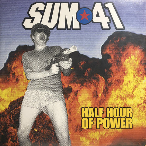 Sum 41 ‎– Half Hour Of Power : Island Records ‎– none, Universal Music Special Markets ‎– none : Vinyl, LP, Album, Red