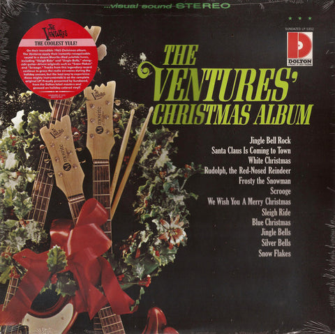 The Ventures ‎– The Ventures' Christmas Album : Sundazed Music ‎– LP 5352 : Vinyl, LP, Album, Reissue, Holiday Colored Vinyl