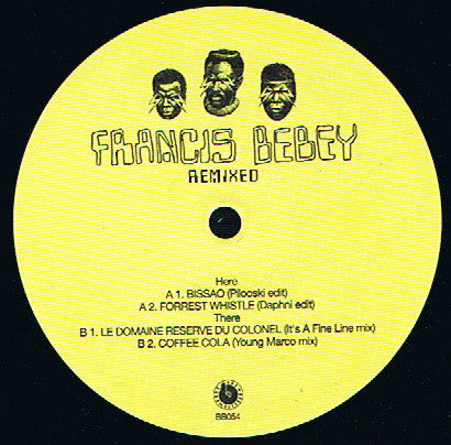 Francis Bebey ‎– Remixed : Born Bad Records ‎– BB054 : Vinyl, 12""