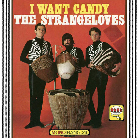 The Strangeloves ‎– I Want Candy : Bang Records ‎– 211, Real Gone Music ‎– RGM-0905 : Vinyl, LP, Album, Mono, Candy Apple Red Vinyl