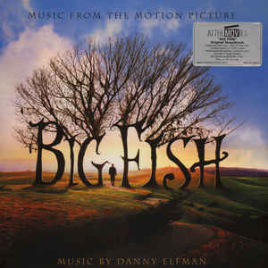 Danny Elfman ‎– Big Fish (Music From The Motion Picture) : Music On Vinyl ‎– MOVATM052 : At The Movies – MOVATM052 : 2 × Vinyl, LP, Album, Limited Edition, Numbered, Blue/Black/White Marbled, 180 gram