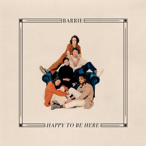 Barrie ‎– Happy To Be Here : Winspear Records ‎– WSP030 : Vinyl, LP, Album, Club Edition, Limited Edition, Numbered, Swimming Pool Blue