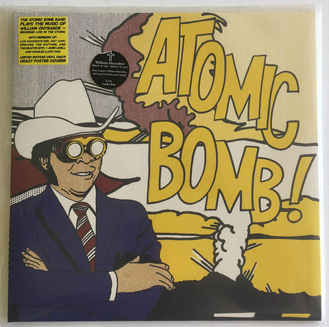 The Atomic Bomb Band ‎– Plays The Music Of William Onyeabor : Luaka Bop ‎– 6 80899 5040-1-0 : Vinyl, LP, Album, Limited Edition