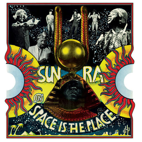 Sun Ra ‎– Space Is The Place : Sutro Park ‎– SP1004 : 2 × Vinyl, LP, Album, Limited Edition, Reissue, Red/Yellow & Blue/Green