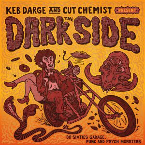 Darge, Keb And Cut Chemist - The Dark Side : BBE LP-BBE-360 - Vinyl, 2xLP