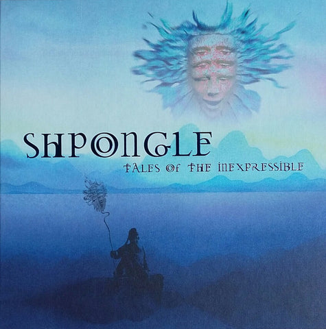 Shpongle ‎– Tales Of The Inexpressible : Twisted Records ‎– TWSLP13RMB : 2 × Vinyl, LP, Album, Limited Edition, Reissue, Remastered, Translucent Blue