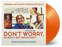 Danny Elfman - Don't Worry, He Won't Get Far On Foot (Soundtrack) [LP] (LIMITED ORANGE 180 Gram Audiophile Vinyl, insert, printed inner sleeve, PVC sleeve, numbered to 750)  8719262007550  MOVATM211