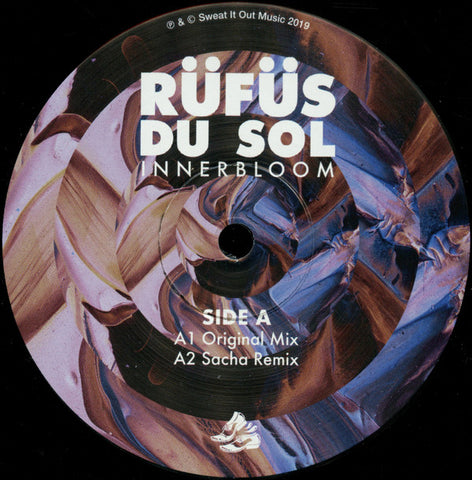 "Rüfüs Du Sol* ‎– Innerbloom : Sweat It Out! ‎– SWEATSV006 : Vinyl, 12"", 33 ⅓ RPM"