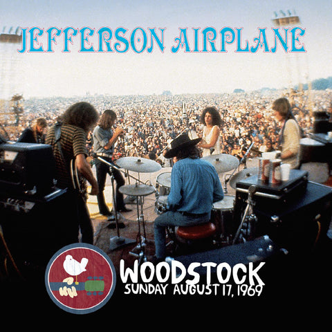 "Jefferson Airplane - Woodstock Sunday August 17, 1969 (Limited 50th Anniversary ""New Dawn"" Blue Vinyl Edition) - Real Gone Music RGM-0911 - 3xLP, Vinyl"