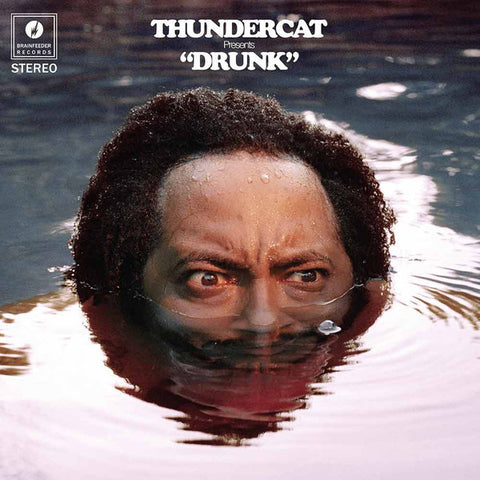 "Thundercat ‎– Drunk : Brainfeeder ‎– BF064 : 4 × Vinyl, 10"", 45 RPM, Special Edition, Red Box Set, Album"