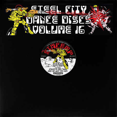 "StacEmp ‎– Steel City Dance Discs Volume 16 : Steel City Dance Discs ‎– SCDD016 : Vinyl, 12"", 33 ⅓ RPM, Stereo"