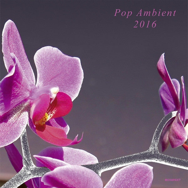 Various - Pop Ambient 2016 - Kompakt, Kompakt - KOMPAKT 345, KOMCD128 - LP, Comp, 180 + CD, Comp, Mixed