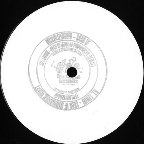 "Liviu Gorza ‎– Lern If : Fantastic Friends Recordings ‎– FFRLIMITED017 : Vinyl, 12"", 33 ⅓ RPM, Single Sided, White Label"