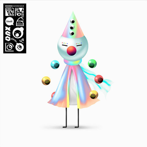 "Iglooghost ‎– Clear Tamei / Steel Mogu : Brainfeeder ‎– BF079 : Vinyl, 12"", EP, Limited Edition, Clear"