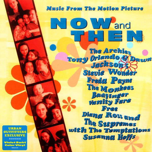 Various ‎– Now And Then - Music From The Motion Picture : Columbia ‎– 41953761 : Vinyl, LP, Compilation, Limited Edition, Reissue, Violet Swirl
