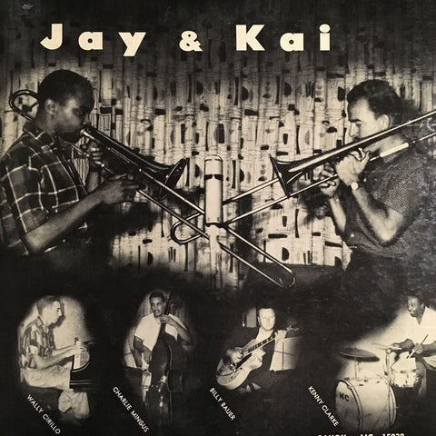 "Jay* & Kai* ‎– Jay & Kai : Savoy Records ‎– MG 15038 : Vinyl, LP, 10"", Album"