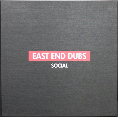 "East End Dubs ‎– Social Part 1 : Social ‎– SCLBOX1 : 5 × Vinyl, 12"", Box Set"