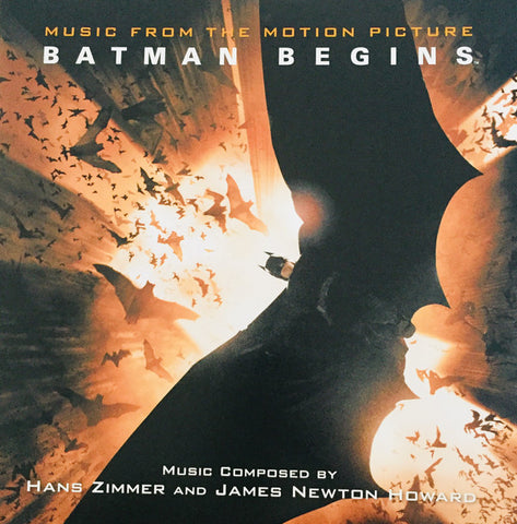 Hans Zimmer And James Newton Howard ‎– Batman Begins: Original Motion Picture Soundtrack : Silva Screen ‎– SILLP1316 : 2 × Vinyl, LP, Album, Limited Edition, Repress, Stereo, Bhutan Blue Flower Coloured