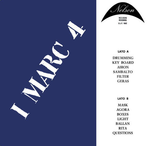 I Marc 4 ‎– I Marc 4 : Sonor Music Editions ‎– SME 35 : Vinyl, LP, Limited Edition, Reissue, Remastered, 180 grams