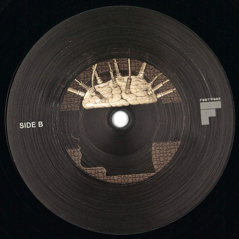Jay Lumen ‎– Connected / Dark Rooms : Footwork Audio ‎– FW013 : Vinyl, 12""