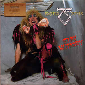 Twisted Sister ‎– Stay Hungry : Music On Vinyl ‎– MOVLP1561 : Vinyl, LP, Album, Limited Edition, Numbered, Reissue, Black/White Marbled